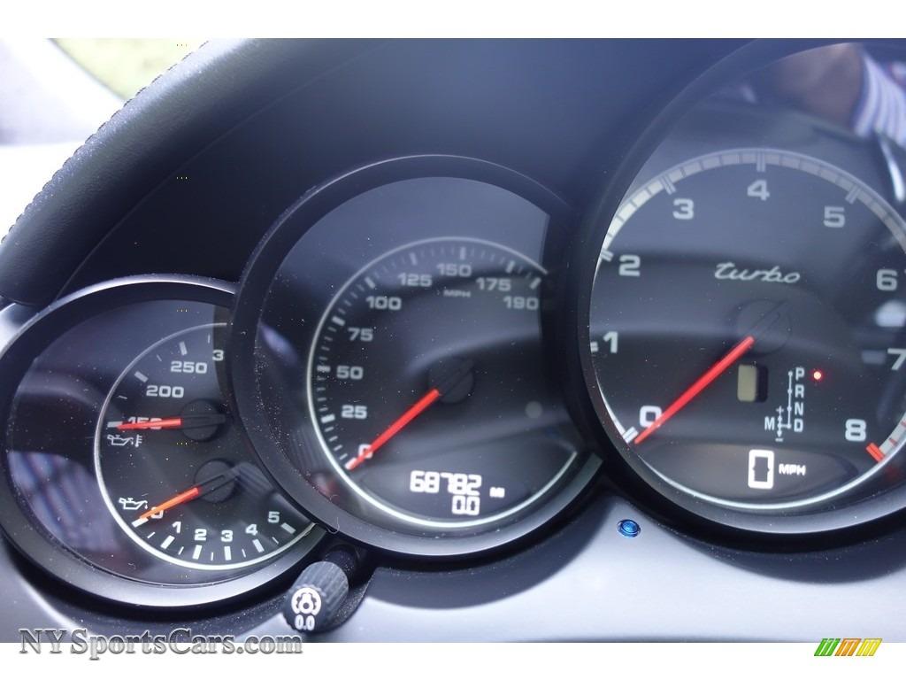 2011 Cayenne Turbo - Meteor Grey Metallic / Black photo #23