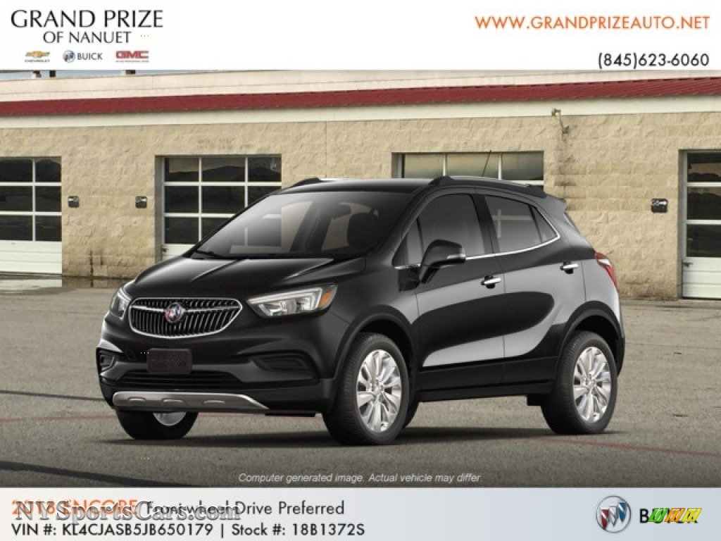 2018 Encore Preferred - Ebony Twilight Metallic / Ebony photo #1
