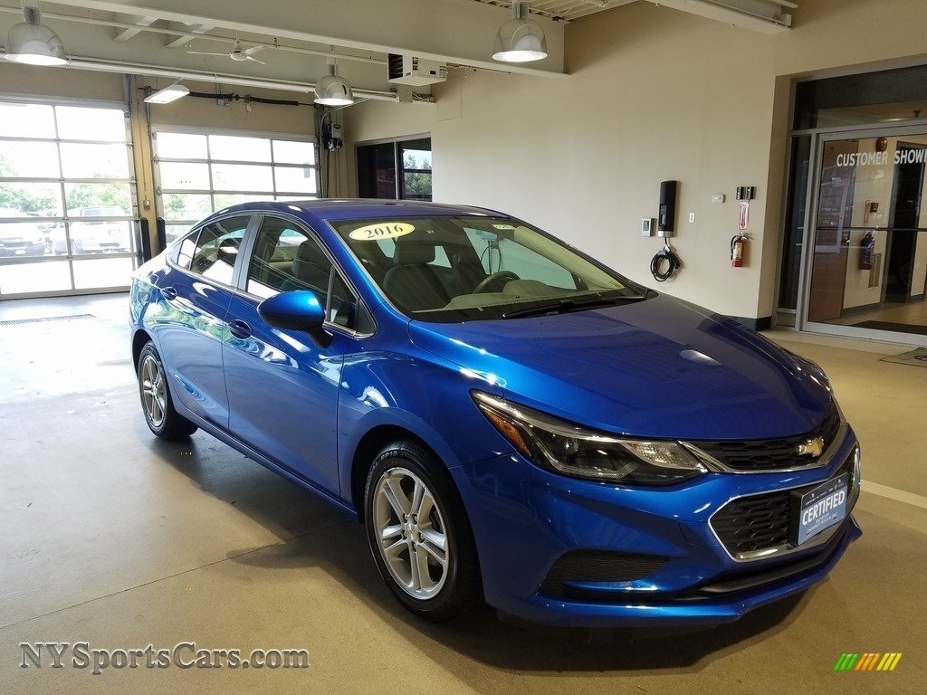 2016 Cruze LT Sedan - Kinetic Blue Metallic / Jet Black photo #1