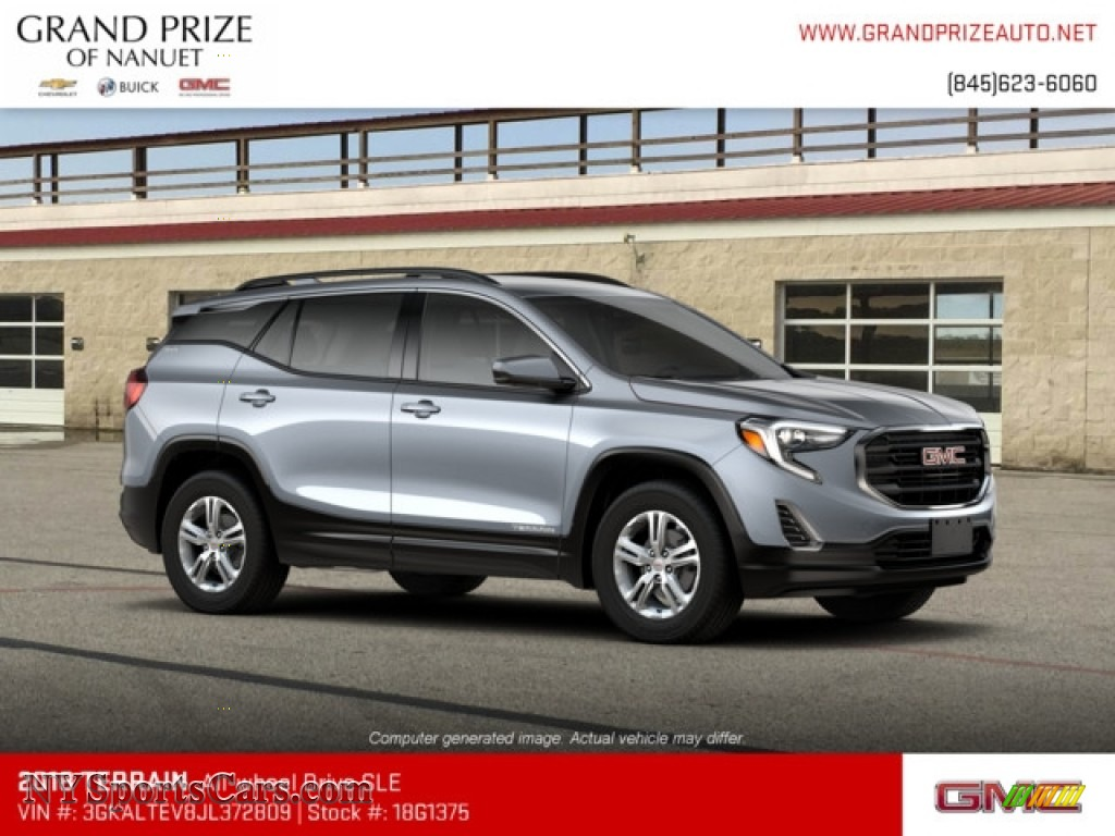 2018 Terrain SLE AWD - Satin Steel Metallic / ­Jet Black photo #4
