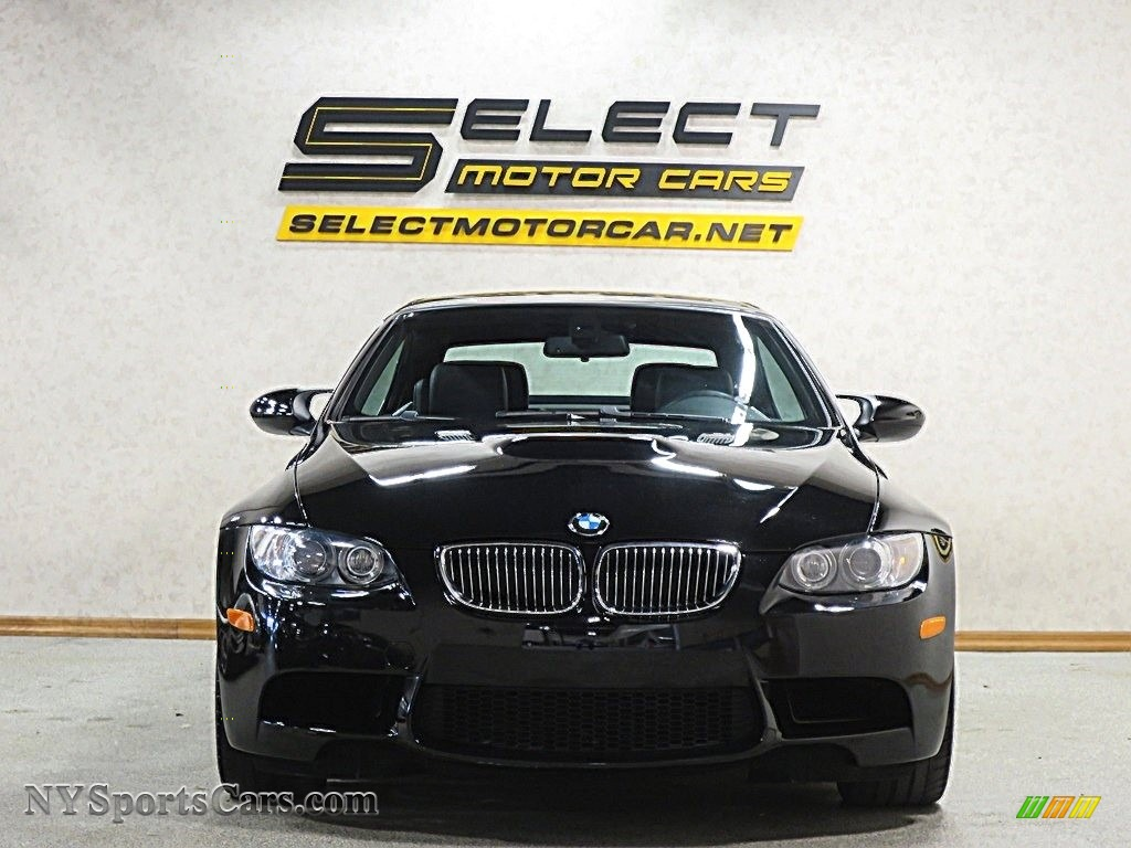 2008 M3 Convertible - Jet Black / Black photo #2
