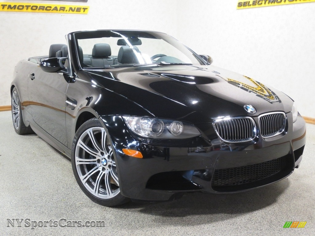 2008 M3 Convertible - Jet Black / Black photo #8