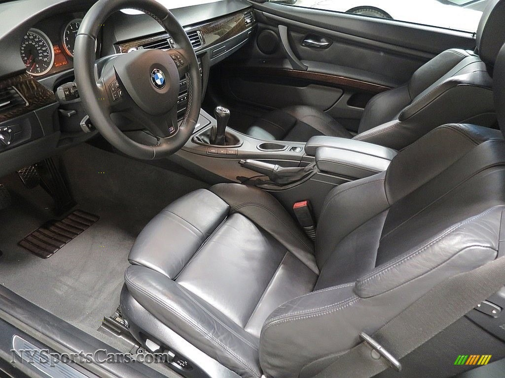 2008 M3 Convertible - Jet Black / Black photo #20