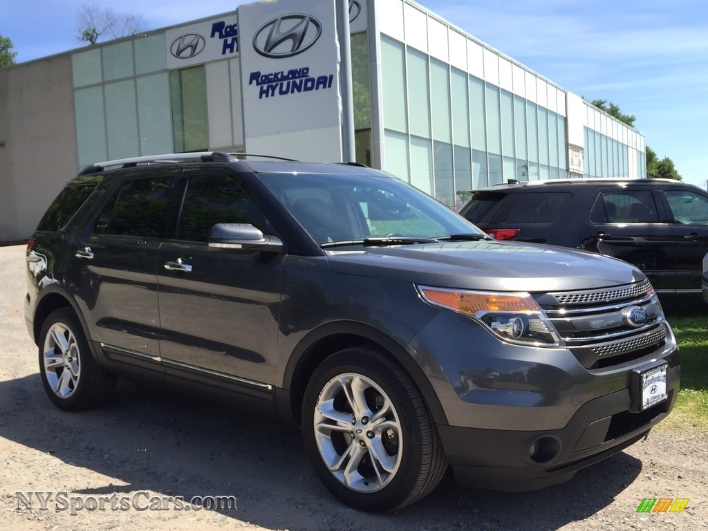 Dark Side / Charcoal Black Ford Explorer Limited 4WD