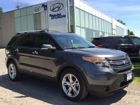 Dark Side 2015 Ford Explorer Limited 4WD