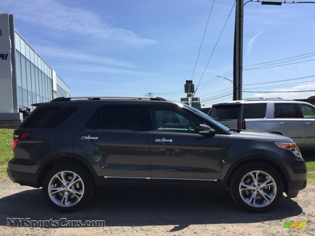 2015 Explorer Limited 4WD - Dark Side / Charcoal Black photo #3