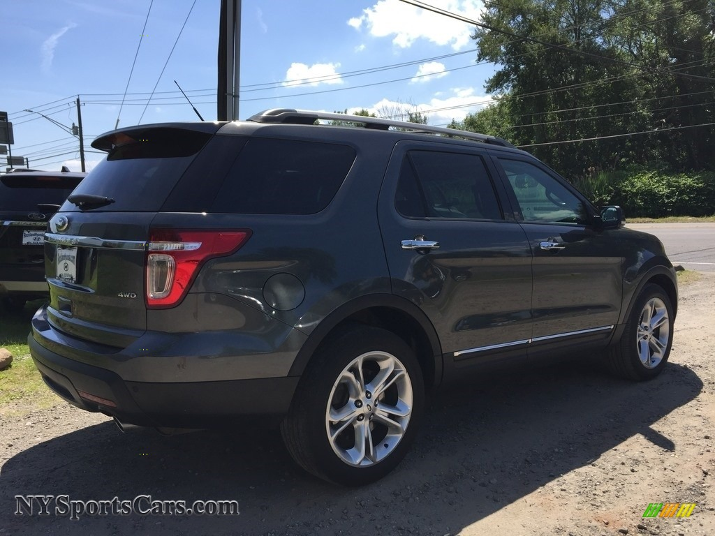 2015 Explorer Limited 4WD - Dark Side / Charcoal Black photo #4