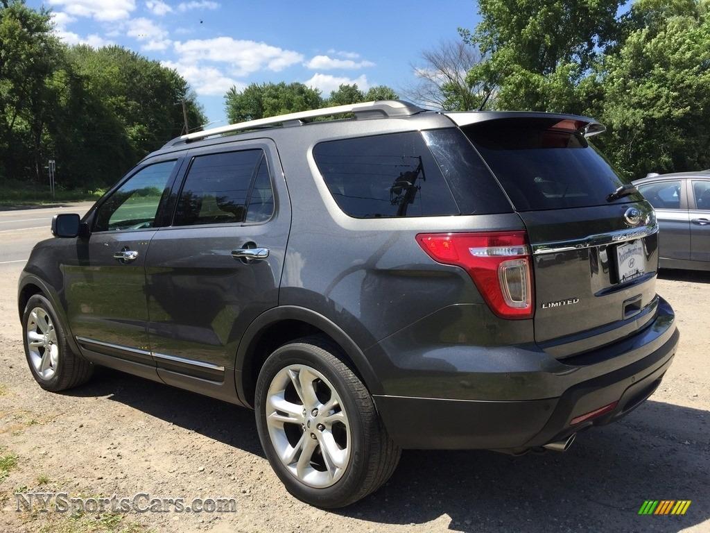 2015 Explorer Limited 4WD - Dark Side / Charcoal Black photo #6