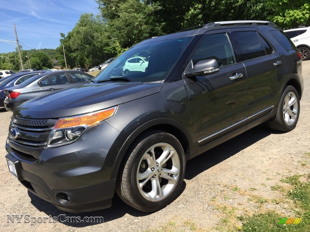 2015 Explorer Limited 4WD - Dark Side / Charcoal Black photo #7