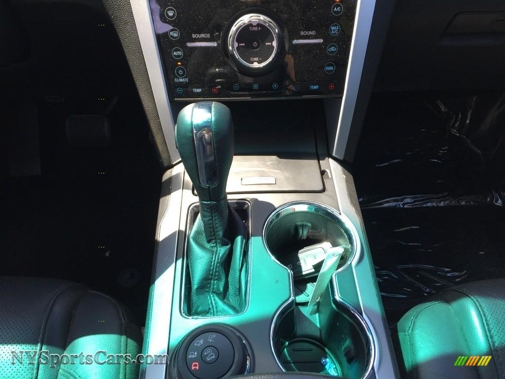 2015 Explorer Limited 4WD - Dark Side / Charcoal Black photo #15