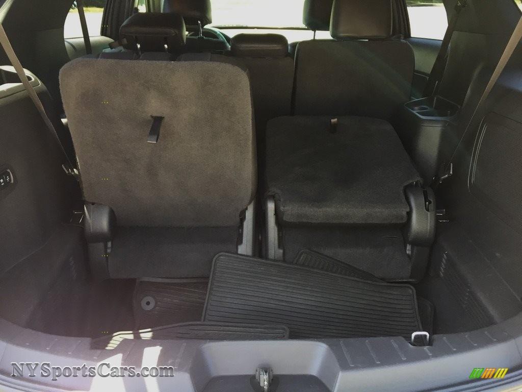 2015 Explorer Limited 4WD - Dark Side / Charcoal Black photo #22