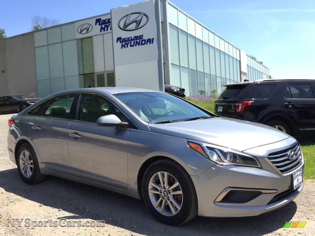 2016 Sonata SE - Shale Gray Metallic / Beige photo #1