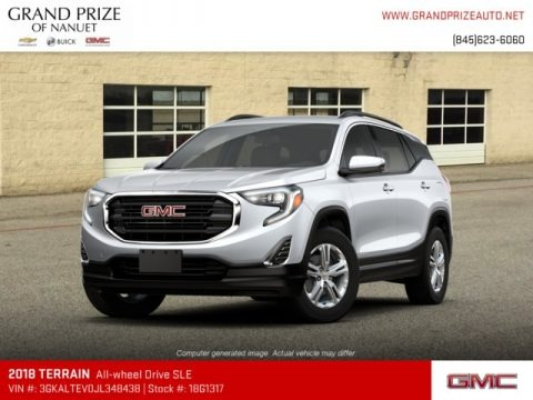 Quicksilver Metallic 2018 GMC Terrain SLE AWD
