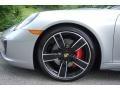 Porsche 911 Targa 4S GT Silver Metallic photo #9