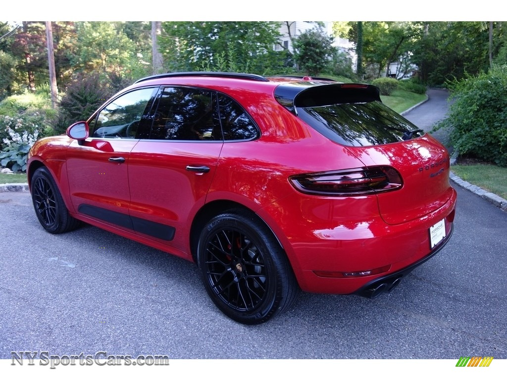 2018 Macan GTS - Carmine Red / Black photo #4