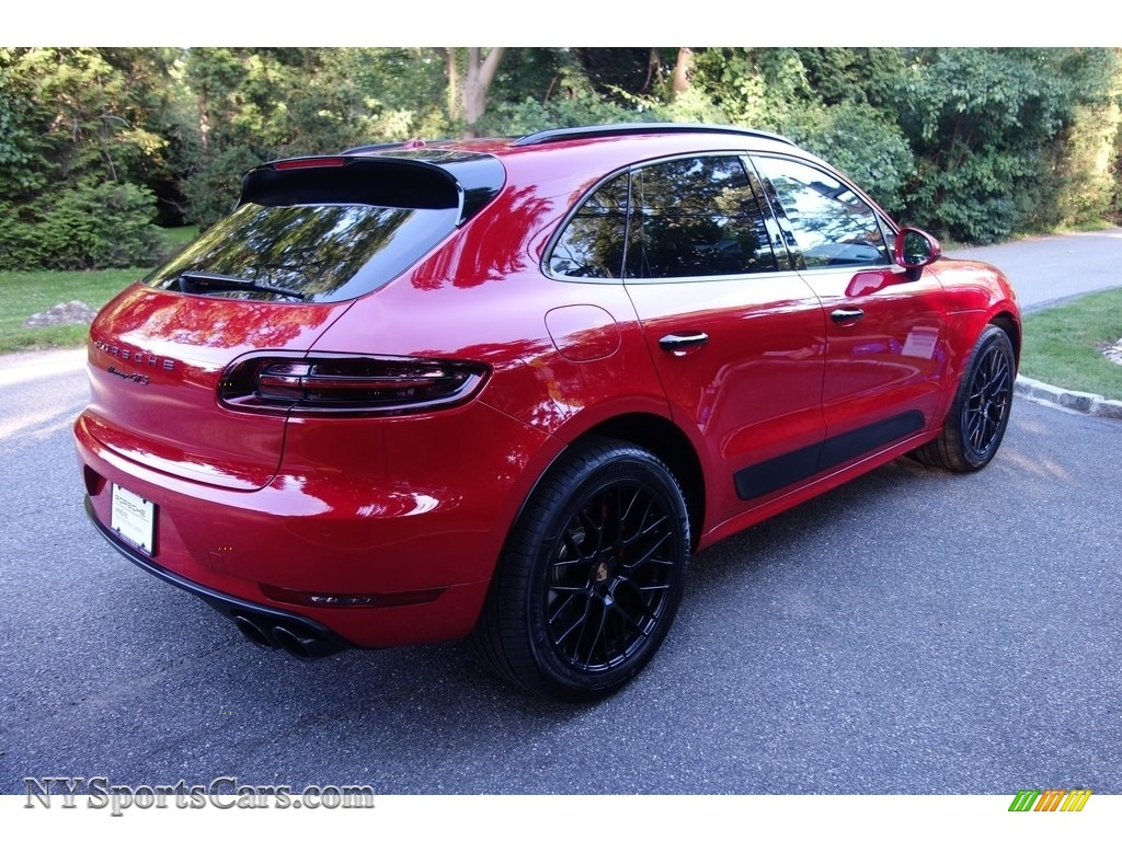 2018 Macan GTS - Carmine Red / Black photo #6