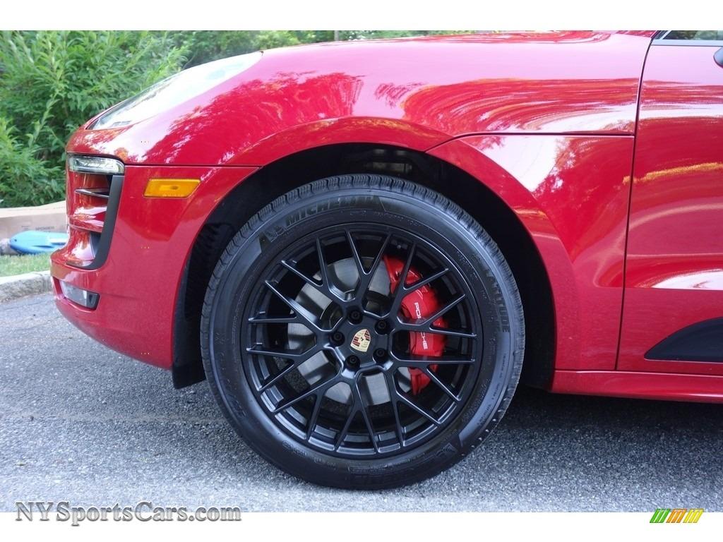 2018 Macan GTS - Carmine Red / Black photo #9