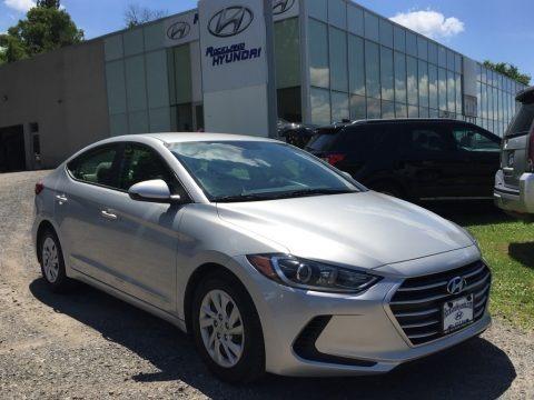 Silver 2017 Hyundai Elantra SE