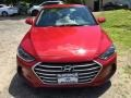 Hyundai Elantra SE Red photo #2