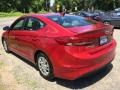 Hyundai Elantra SE Red photo #6