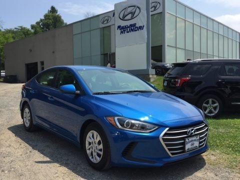 Electric Blue 2017 Hyundai Elantra SE