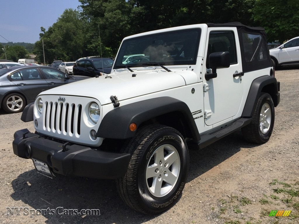2016 Wrangler Sport - Bright White / Black photo #7