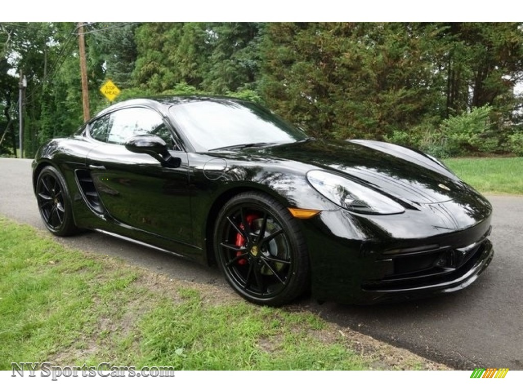 2018 718 Cayman GTS - Black / Black photo #1