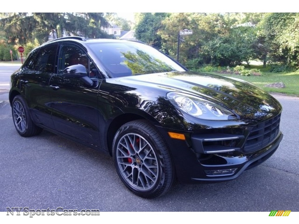 2018 Porsche Macan Turbo In Black B71322 Nysportscars Com Cars For Sale In New York