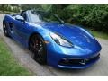 Porsche 718 Boxster S Sapphire Blue Metallic photo #1