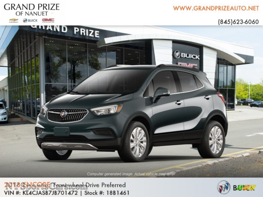 2018 Encore Preferred - Graphite Gray Metallic / Ebony photo #1