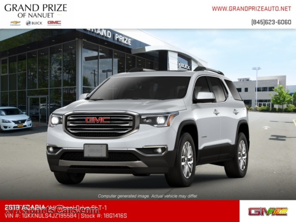 2018 Acadia SLT AWD - Quicksilver Metallic / Jet Black photo #1