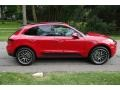 Porsche Macan S Carmine Red photo #3
