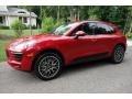 Porsche Macan S Carmine Red photo #8