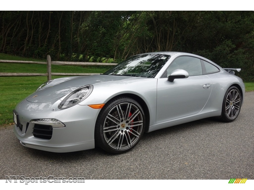 2015 911 Carrera S Coupe - Rhodium Silver Metallic / Black photo #1