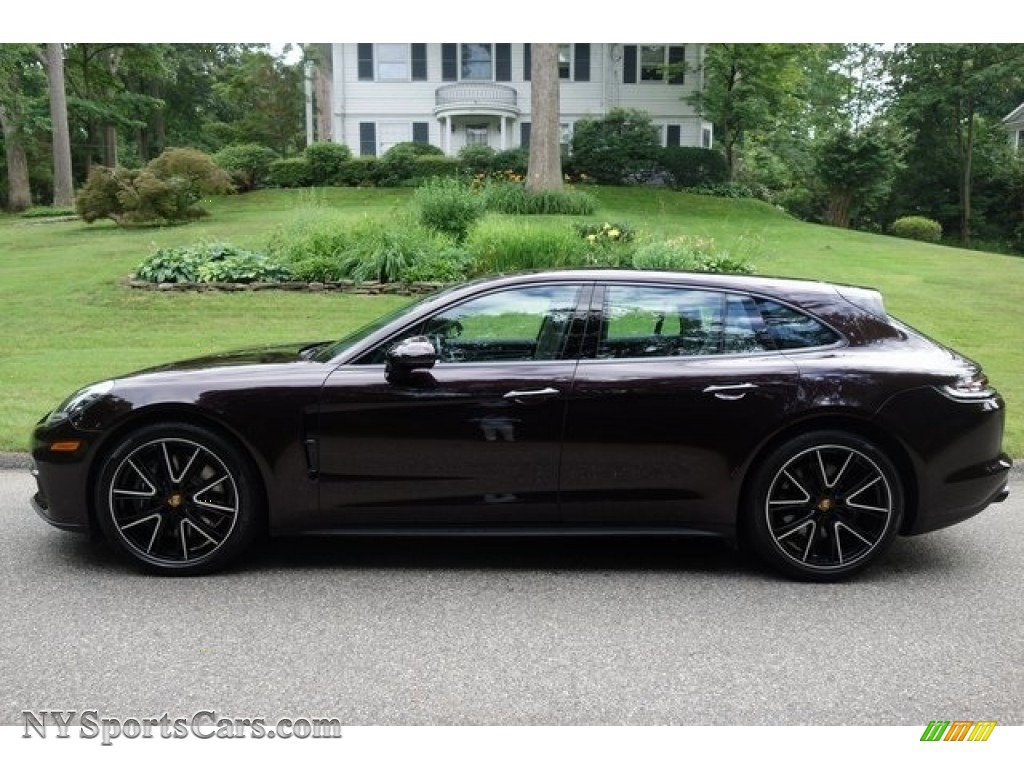 2018 Panamera 4 Sport Turismo - Amethyst Metallic / Black/Chalk photo #3