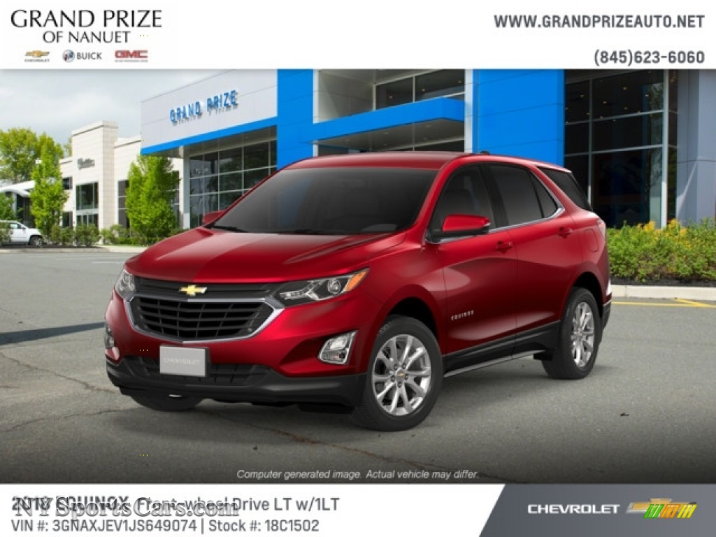 2018 Equinox LT - Cajun Red Tintcoat / Jet Black photo #1