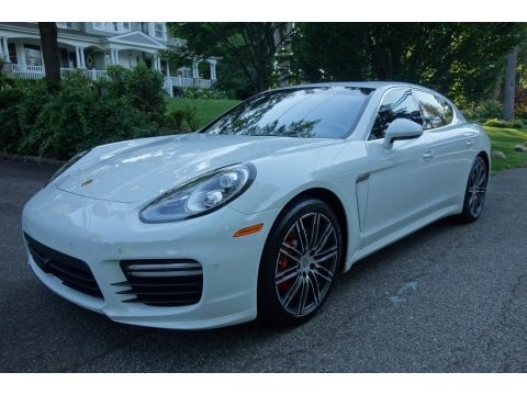 White 2015 Porsche Panamera Turbo