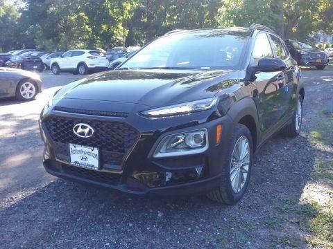 Ultra Black 2018 Hyundai Kona SEL