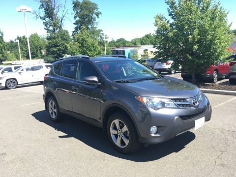 Magnetic Gray Metallic 2015 Toyota RAV4 XLE