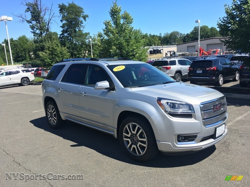 2013 Acadia Denali AWD - Champagne Silver Metallic / Ebony photo #1