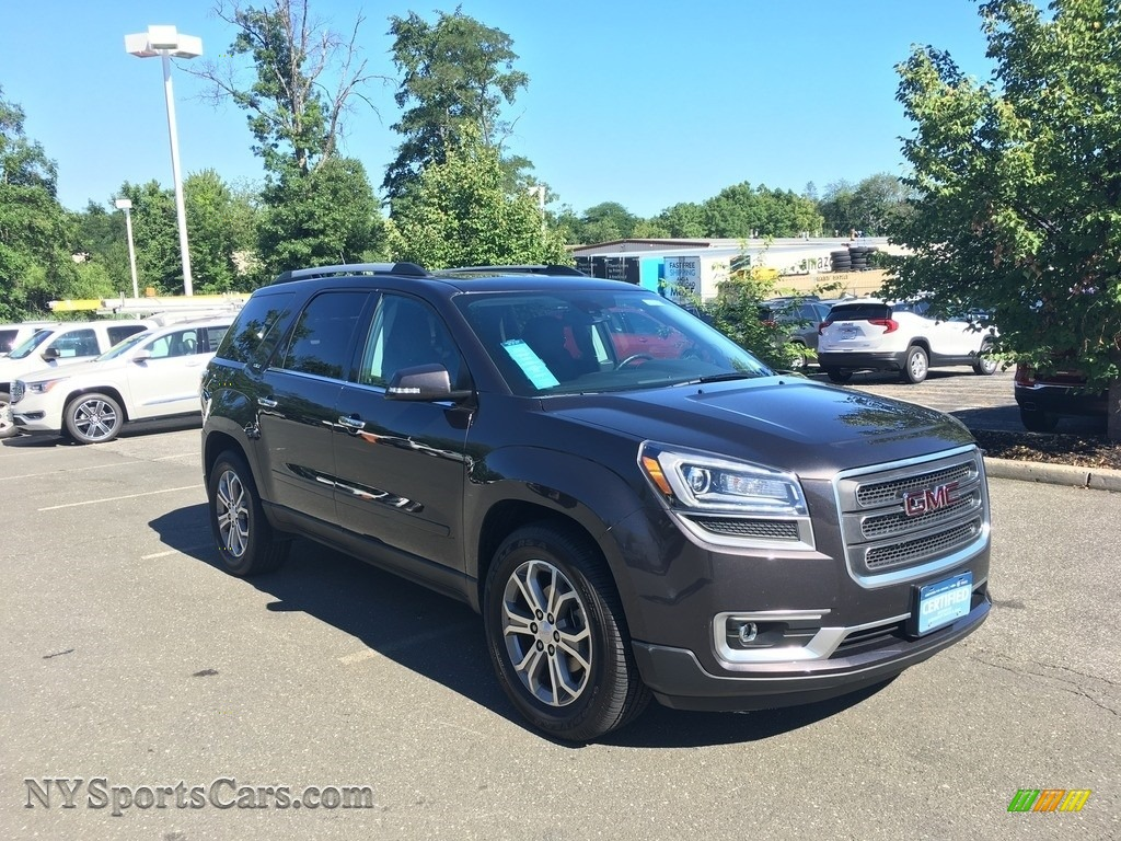 2015 Acadia SLT AWD - Iridium Metallic / Ebony photo #1
