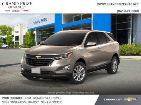 Pepperdust Metallic 2018 Chevrolet Equinox LT