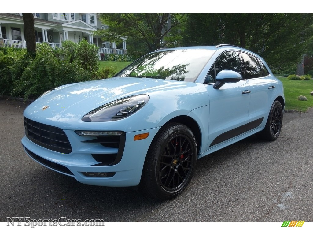 2018 Macan GTS - Paint to Sample Gulf Blue / Black photo #1