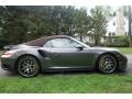 Porsche 911 Turbo S Cabriolet Agate Grey Metallic photo #7