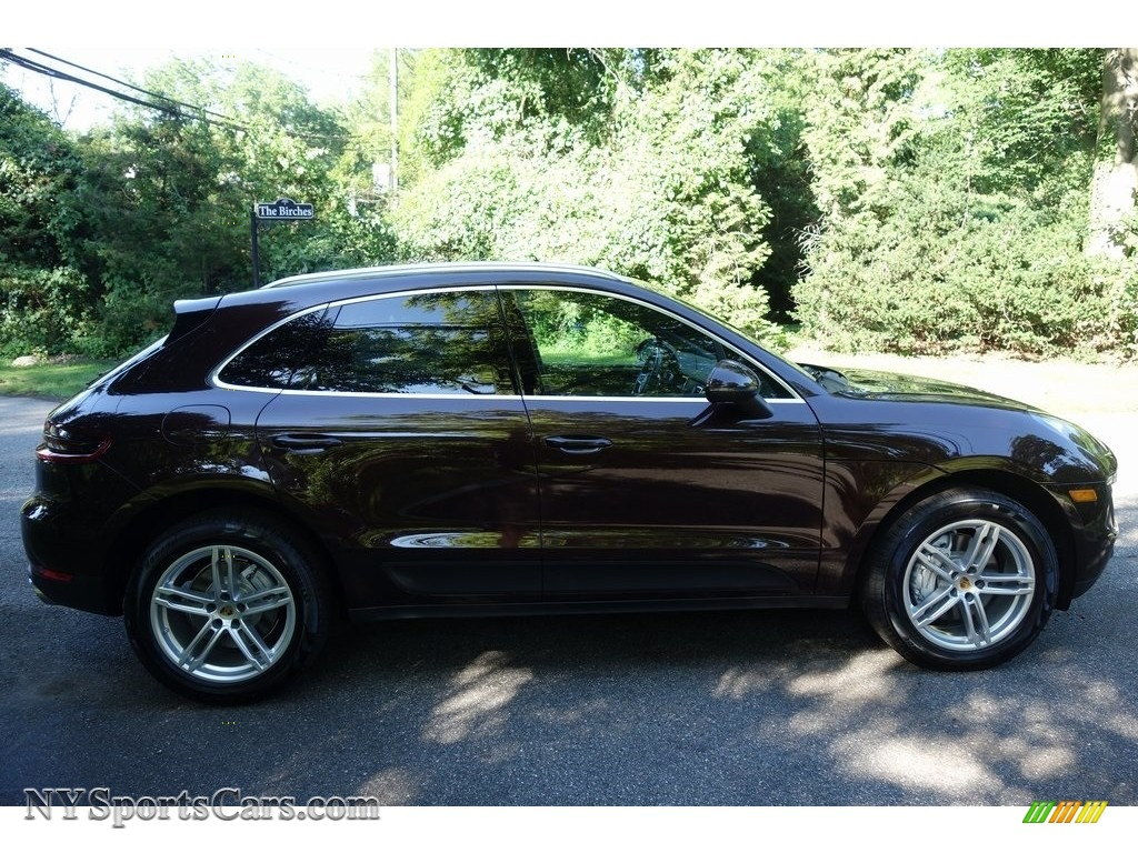 2018 Macan S - Mahogany Metallic / Black/Luxor Beige photo #3