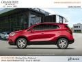 Buick Encore Preferred AWD Winterberry Red Metallic photo #2