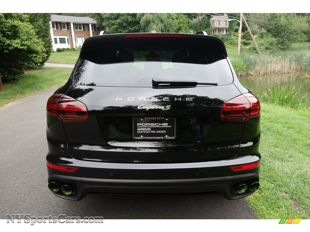 2016 Cayenne S E-Hybrid - Black / Black photo #5