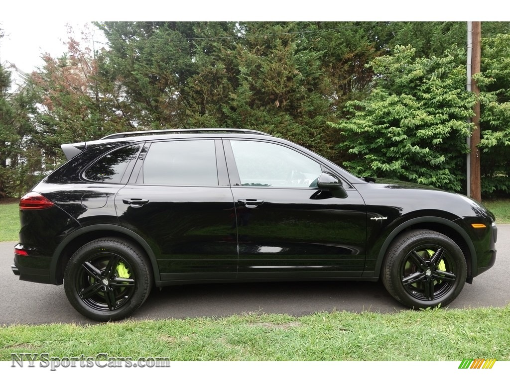 2016 Cayenne S E-Hybrid - Black / Black photo #7