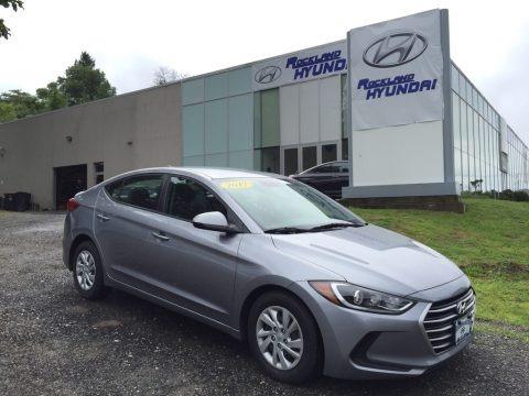 Gray 2017 Hyundai Elantra SE