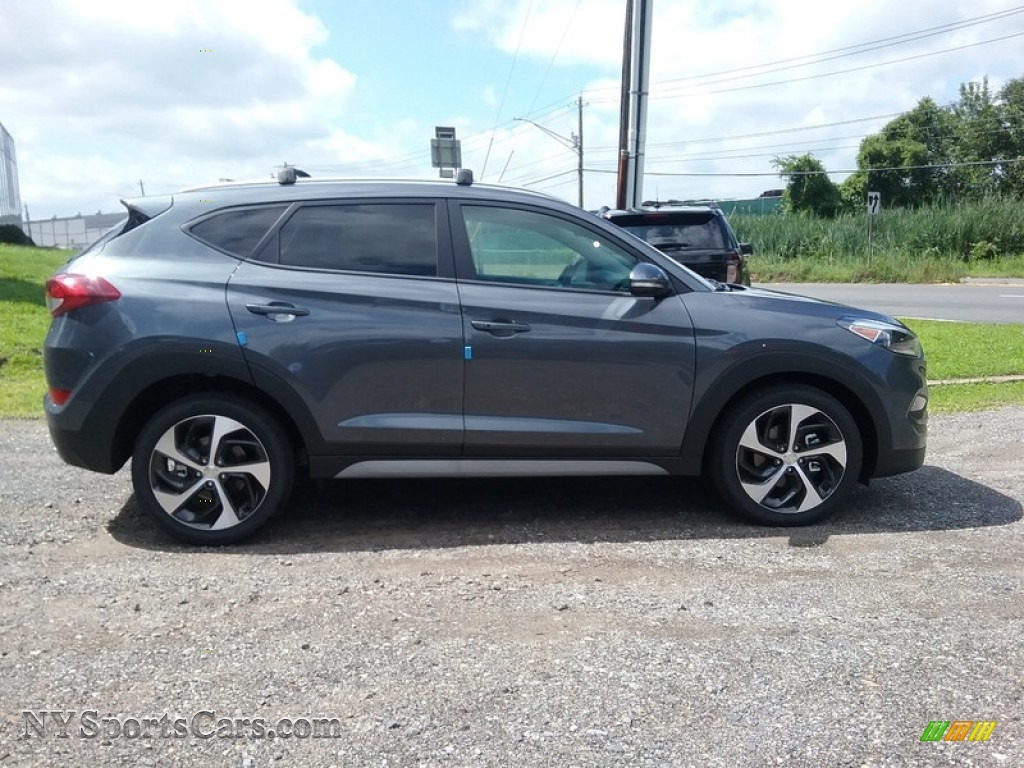 2018 Tucson Sport AWD - Coliseum Gray / Black photo #3